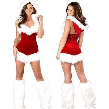 perfecti Disfraces De Navidad para Adultos Mujer Disfraz Mamá Noel ...