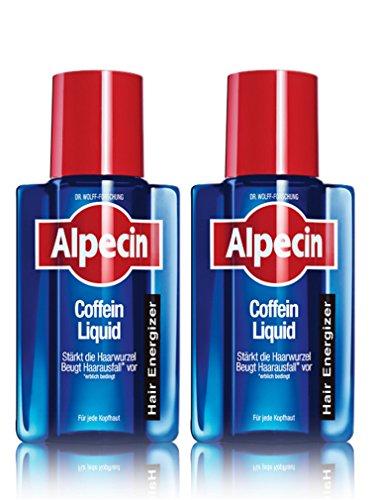 Alpecin After Shampoo Coffein Liquid, Hair Energizer, Doppelpack (2x 200ml)
