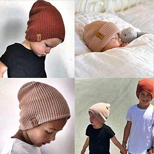 NIUPAN Girl Boy Winter Hat Baby Soft Warm Beanie Hat Haak Elasticiteit Gebreide mutsen Kinderen Casual warme muts
