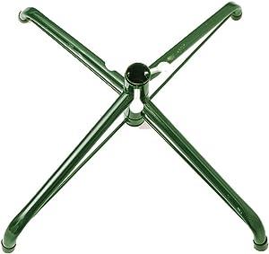 Wukalaka Pied de Sapin de Noël Artificiel en Fer et métal Vert 1,2 m