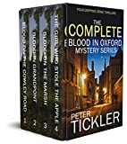THE COMPLETE BLOOD IN OXFORD MYSTERY SERIES four absolutely gripping crime thrillers