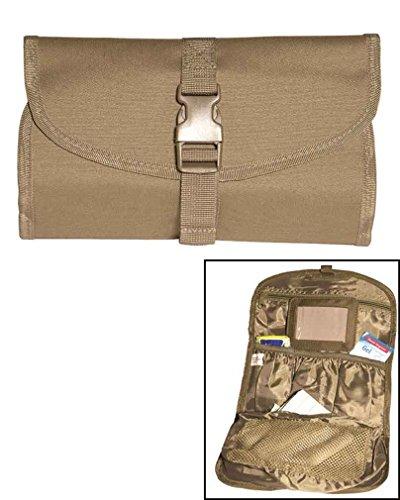 Mil-Tec British Army Trousse de toilette Coyote
