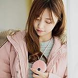 Mini chauffe-mains portable d'hiver 5000 mAh avec batterie externe rechargeable par USB à suspendre pour le cou