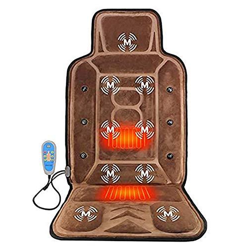 Shiatsu-Massagesessel Sitzvoll Hals Gesäss Massage elektrisches Tief Knead Massagekissen mit Wärmesitzkissen für Home Office-Auto
