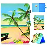 YKTO Coque Samsung Galaxy Tab 4 10.1 Pouces SM T530 PU Cuir Flip Support Style Portefeuille Étui...