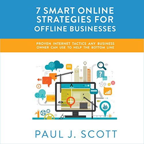 『7 Smart Online Strategies for Offline Businesses』のカバーアート