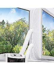 TOPOWN Raamafdichting voor Mobiele Airconditioner, Wasdrogers - Airconditioning Raamafdichting 400cm - Raamafdichting voor airco's Heteluchtstop voor Bevestiging aan Ramen, Dakramen, Openslaande Ramen