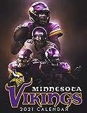 Minnesota Vikings 2021 Calendar: Football Team 2021 Calendar For Fans - Size 8.5x 11 inches Calendar
