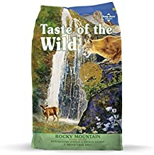 Taste of the Wild Rocky Mountain. Dry Cat Food. 5 LB Roasted Venison & Smoked Salmon. Fast Delivery!!!