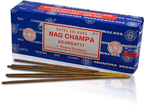 Satya Nag Champa 250 GMS Incense Stick by Shrinivas Sugandhalaya LLP Mumbai