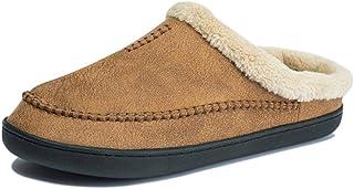 Hiver Hommes Chaussons Chaussons Chaussons Soft Soft Fashion Sneakers Fashion Confort sous-Joie Unisexe Slip sur Chaussure...