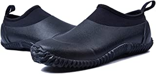 gracosy Men's Women's Rubber Water Shoes Neoprene Boots Rubber Snow Rain Boots Waterproof Garden Shoes Slip On Outdoor Wal...