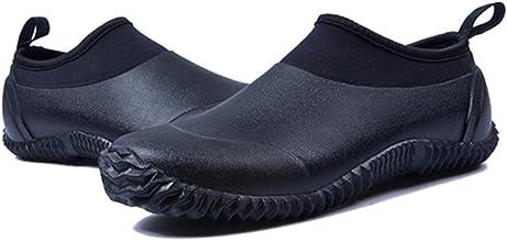 gracosy Rain Boots for Women Men, Waterproof Garden Shoes Beach Water Shoes Lightweight Walking Sneaker Car Wash Footwear ...