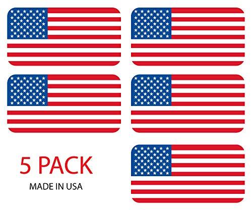 اسعار (5) الأمريكية العلم الصلب قبعة ملصقات /