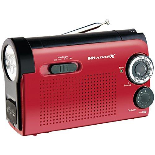 Weatherx WR182R Weatherband Radio, Instant NOAA, Am/FM