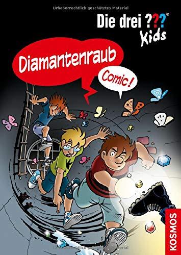 Die drei ??? Kids, Diamantenraub: Comic