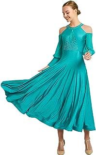 YUMEIREN International Standard Ballroom Dress for Women Waltz