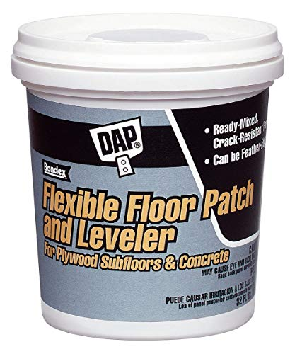 DAP Flexible Floor Patch and Leveler, 1 gal. Size, Light Gray Color, Container Type: Pail - 59190