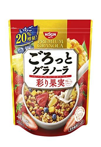 ごろっとグラノーラ 彩り果実 400g ×6袋