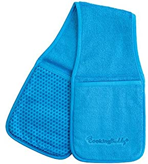 Campanelli's Cooking Buddy - Professional Grade All-in-One Pot Holder, Hand Towel, Lid Grip, Tool Caddy, and Trivet. Heat ...