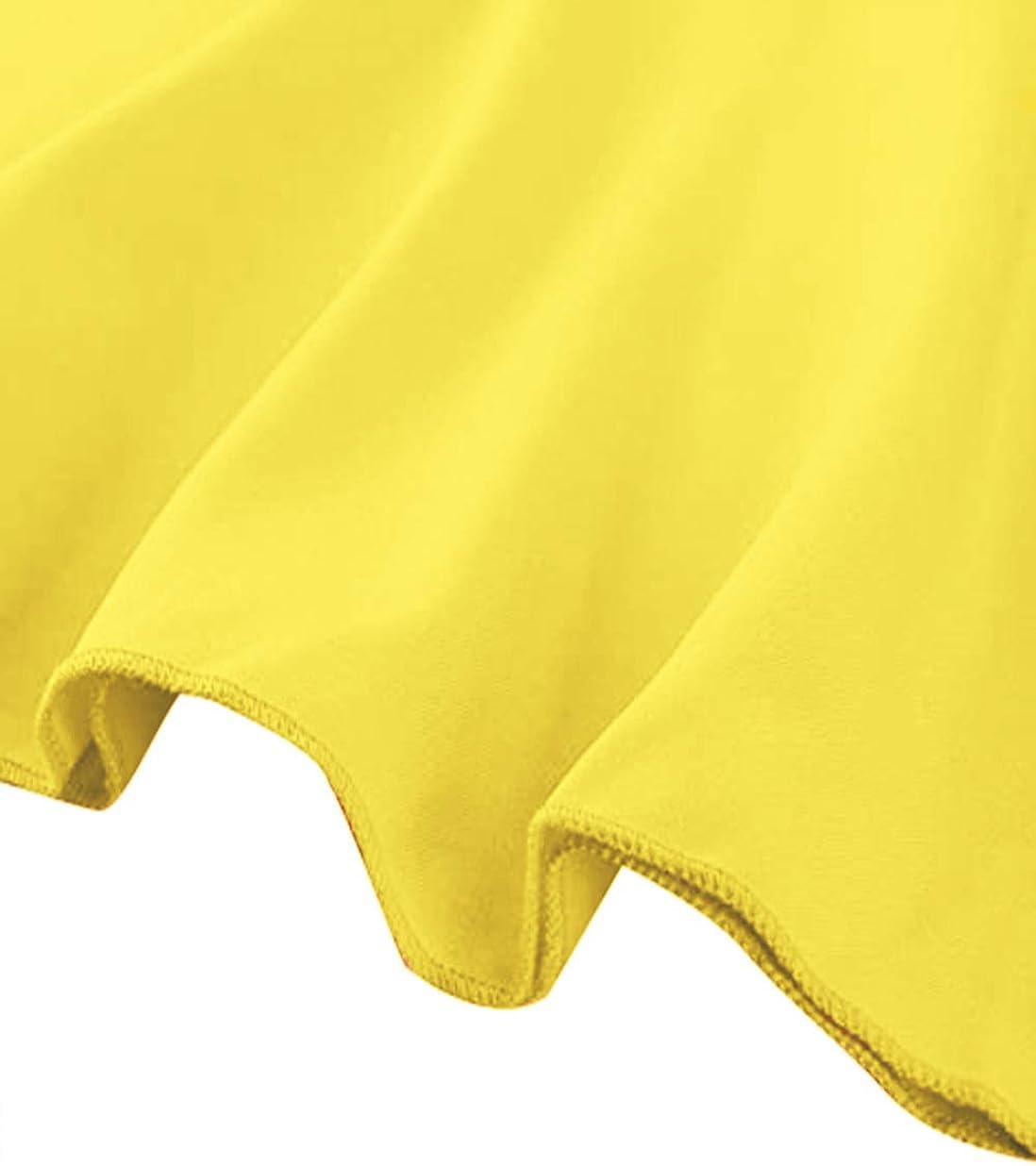 Vesnoyci Peplum Tops for Women Ruffle Sleeveless Round Neck Slim Fit Blouse Shirt