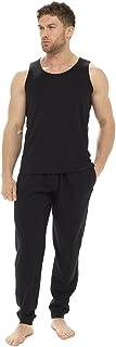 Tom Franks Mens Polycotton Vest and Trouser Lounge Nightwear Pyjamas