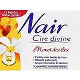 Nair - Cire Divine - Cire à base de résine naturelle de pin parfum monoï des îles intense, chauffage micro-ondes - La boîte de 400g - Prix Unitaire - Livraison Gratuit Sous 3 Jours