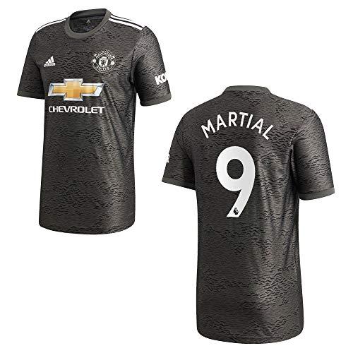 adidas Manchester United Trikot Away Kinder 2021 - Martial 9, Größe:128