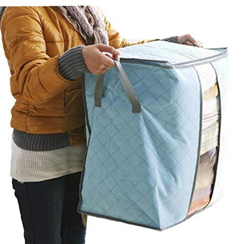 BYFRI Non-woven kleding tas houder deken kussen bed opbergzak opbergdoos draagbare opbergzak doos doos willekeurige kleur
