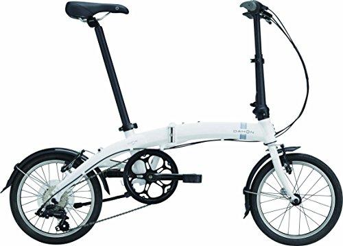 DAHON(ダホン) Curve D7 7speed 折りたたみ自転車 2017年モデル 16インチ クラウドホワイト 17CVD7WH00
