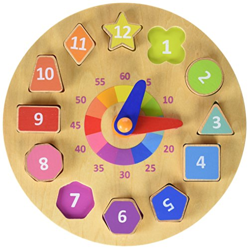 Andreu Toys 24 x 2.1 cm Quotidien Actions Horloge (Multicolore)