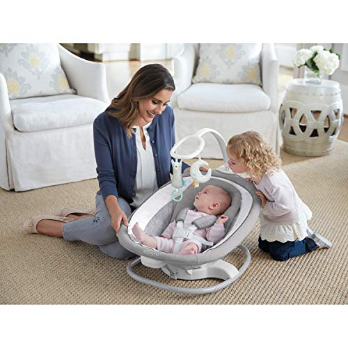 51B8tnNZWIL The Best Battery Operated Baby Swings in 2021 Reviews