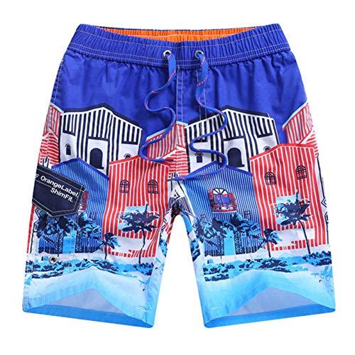 Strand Shorts Fit Taille 58-78cm Jonge Mannen & Jongens Katoen s Snelle Droge Zwemkleding Zwemshorts Surf Board Korte broek