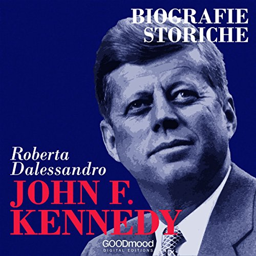 John Fitgerald Kennedy audiobook cover art