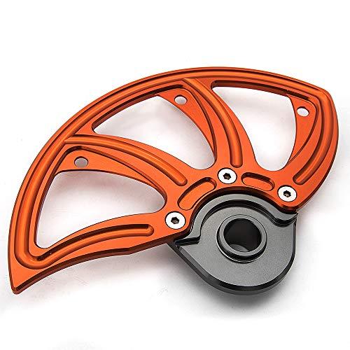 XR650L 1993-2017 Three T Rear Wheel Brake Disc Guard Protector Compatible with Honda XR250R 1989-2004 XR400R 1996-2004 XR600R 1991-2000