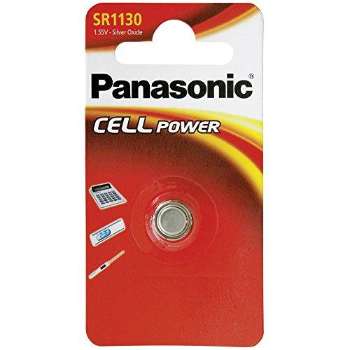 Panasonic SR1130 Knopfzelle SilberOxid 1.55 V 80 mAh