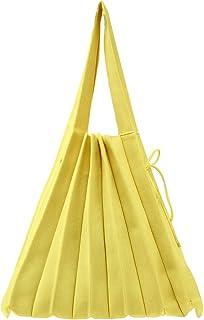 Womens Fashion Knitted Shoulder Bag Casual Pleated Handbag