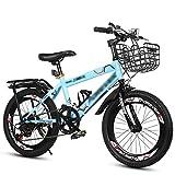 YUCHEN- Bicicletas for niños Bicicleta de montaña Masculina y femenina Bicicletas al aire libre Ocio Levantamiento de montañismo Bicicleta Bicicleta Niño Bicicleta Ajustable Bicicleta Bicicleta de ace