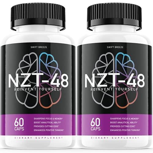 (2 Pack) NZT-48 Limitless Pill Reinvent Yourself...