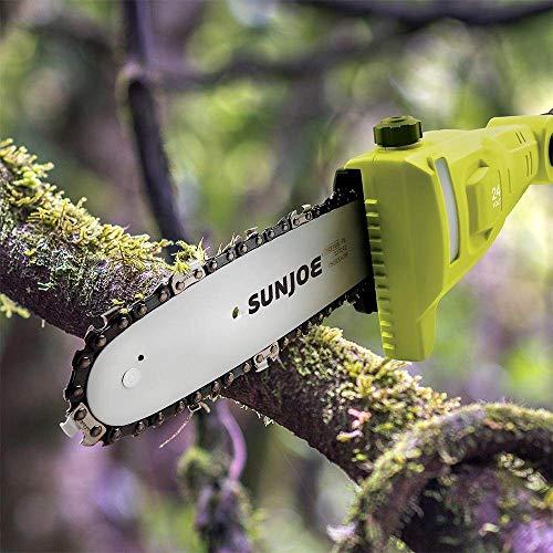 Sun Joe GTS4001C Garden Tool System, (Hedge Trimmer, Pole Saw, Leaf Blower)