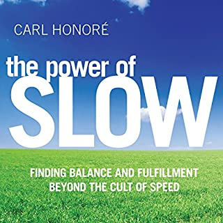 The Power of Slow audiobook cover art