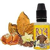 Aroma Concentrado RY4 | 30ML | ElecVap | Sin Nicotina: 0MG | E-Liquido para Cigarrillos Electronicos - E Liquidos para Vaper
