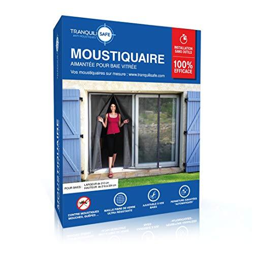 Mosquitera ajustable magnético tranquilisafe® para ventana