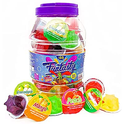 Funtasty Fruit Jelly Cups Assorted Natural Juic...