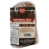 Pumpernickel Bread, Great Low Carb Bread Company, Keto-Friendly Bread, 16 slices, 16 oz.