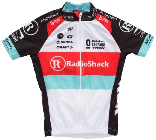 Craft - Maillot de Ciclismo para Hombre Multicolor Negro Talla:134-140 cm