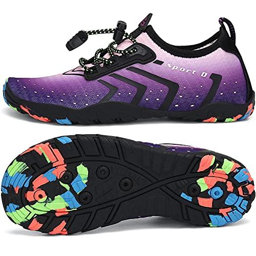 SAGUARO Escarpines Agua Niños Niñas Zapatos Surf Niñas Antideslizante Secado Rápido...