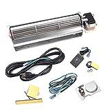 BBQ-Element BKT GA3650T GA3650TB GA3700T GA3700TA Fireplace Blower Fan Kit for Desa Tech, FMI, Vanguard, Vexar, Comfort Flame, Astria, Comfort Glow Fireplaces Fan.