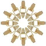 Angoily 12 Piezas de Cierre de Palanca Abrazadera de Cierre de Cerrojo Vintage Cerrojo de Metal de Bloqueo Automático de La Hebilla de Pestillo Sujetadores de Cerrojo para Caja de