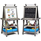 Best Kids Easels - Costzon Kids Art Easel, 3 in 1 Double-Sided Review
